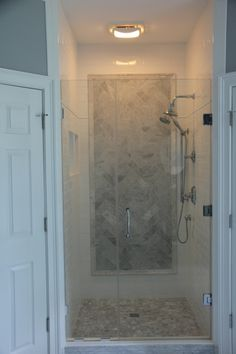Our new master bath shower