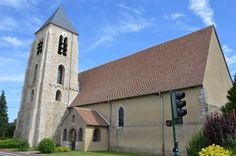 Eglise Saint-Martin te Corquilleroy (Loiret 45)