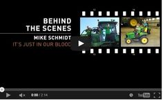 Why I Farm- Behind the Scenes- It's Just in Our Blood- Mike Schmidt