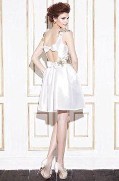 40 Super Cute Getaway Wedding Dress Ideas   HappyWedd.com