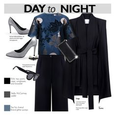 """Day to Night Classiness"" by kurious ❤ liked on Polyvore featuring Être Cécile, C/MEO COLLECTIVE, Paul & Joe Sister, STELLA McCARTNEY, Noir and Grey Ant"