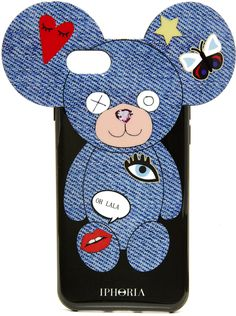 Iphoria Teddy Jeans Patches iPhone 7 Case