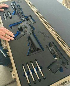 Nice storage - AR-15 & 1911 http://riflescopescenter.com