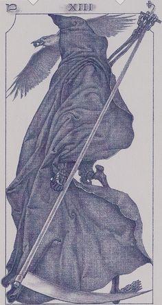 XIII. Death: Tarot of the III Millenium