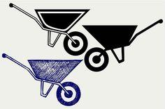 Garden wheelbarrow @creativework247