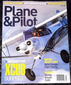 Plane & Pilot Magazine  July 2016  (NO ADDRESS LABEL ON THE COVER)
