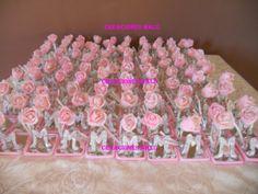 yasmins manualiddes para quincenera | Souvenirs para 15 años, compuesto por rosa en porcelana fría e ...