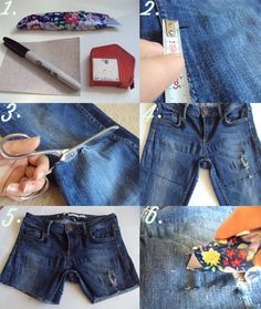 #DIY How to distress jeans and shorts tutorial on Trends With Benefits