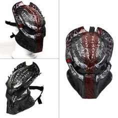 Alien vs #predator mask airsoft halloween #cosplay full face protection #skull ma, View more on the LINK: http://www.zeppy.io/product/gb/2/222119721567/