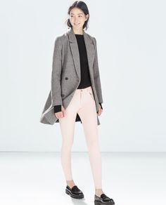 Image 2 of TROUSERS WITH ZIPS AND POCKETS from Zara