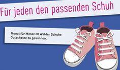 Gewinne mit dem aktuellen Swissfamily Wettbewerb jeden Monat 30 mal einen Walder Schuhe Gutschein im Wert von je CHF 20.- https://www.alle-schweizer-wettbewerbe.ch/gewinne-monatlich-walder-schuhe-gutschein/