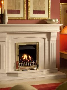 Oasis, Gas Fire, Brass, Coal Fuel Bed