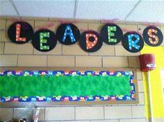 Leader in Me Bulletin Boards - Bing Images Polka Dot Classroom, Classroom Themes, Seven Habits, 7 Habits, Beginning Of School, Back To School, School Stuff, Bee Bulletin Boards, Bullentin Boards