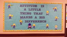Despicable Me bulletin board Ra Themes, Despicable Me, School Counseling, Special Education, Bulletin Boards, Bulletin Board, Data Boards