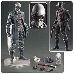 Metal Gear Solid 5 Skull Face Play Arts Kai Action Figure