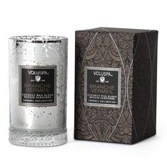 Vermeil Slender Petite Glass Candle - Branche Vermeil from Voluspa