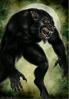 Werewolf lycan by ravenmorgoth
