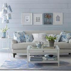 blauwe woonkamer - villa aerie