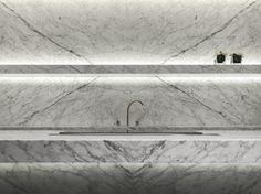 Trybou - Carrara Marble - Potier Stone