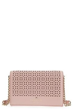 Free shipping and returns on kate spade new york 'cedar street - cami' perforated leather crossbody bag at Nordstrom.com. A perforated flap provides an ultrachic…