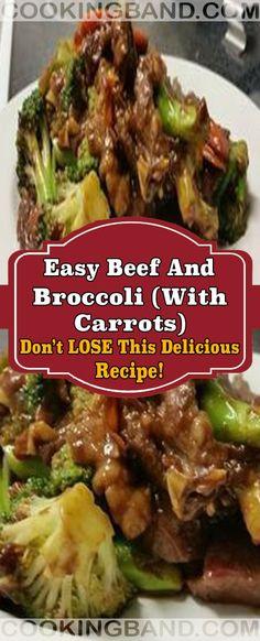 Ingredients Coating 2 tbsp cornstarch 2 tbsp water tsp garlic powder Main Ingredients 1 lb beef round steak / strips 4 cup broccoli 1 small onion 2 each carrots 2 tbsp vegetable oil Beef And Brocolli, Healthy Beef And Broccoli, Chinese Beef And Broccoli, Broccoli Recipes, Asian Recipes, Beef Recipes, Cooking Recipes, Yummy Recipes, Drink Recipes