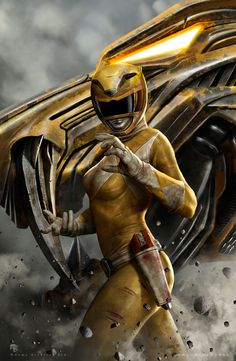 Yellow Ranger on Behance