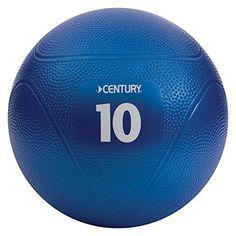 Century Vinyl Blue Medicine Balls, 10 Pounce