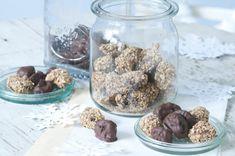 Plněné švestky v čokoládě