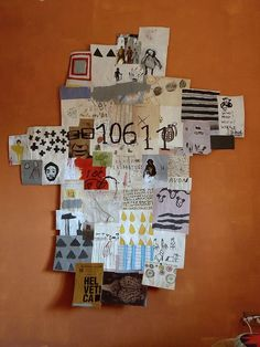 mixed media collage by Massimo Nota /  notamax