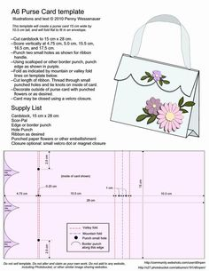 1871 best all about cards images on pinterest handmade cards a6 purse card template here is a easy handbag card to make miche reps m4hsunfo