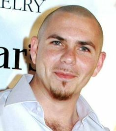 Pitbull ~ Love the eyes and dimples :) We normally see him without his glasses or smiling