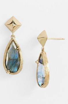 Pair an elegant teardrop earring with your favorite dress!