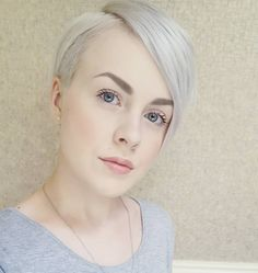 "6,211 Likes, 77 Comments - Short Hairstyles   Pixie Cut (@nothingbutpixies) on Instagram: ""Do you follow @sarahb.h ?! Yes  Or Now I do"""