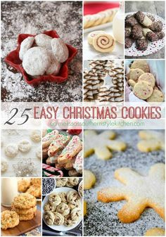 25 Easy Christnas Cookies
