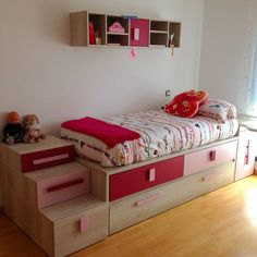 Habitación Juvenil melamina alta calidad. : Chambre d'enfant moderne par LA ALCOBA