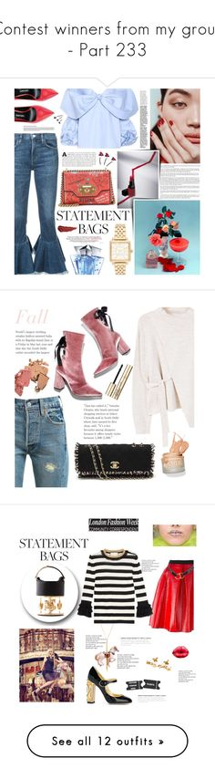 """""""Contest winners from my group - Part 233"""" by miky94 ❤ liked on Polyvore featuring Marc Jacobs, Citizens of Humanity, Johanna Ortiz, Dolce&Gabbana, Tom Ford, By Terry, Thierry Mugler, Robert Clergerie, Levi's and MANGO"""