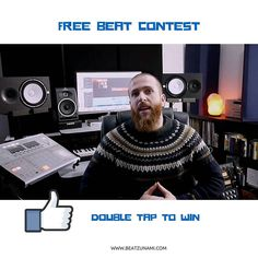 Get a chance to win a Beat produced by me. Follow me and double tap for a chance to win. Winner drawn the 9th of February. Good luck!  Beat as Lease of your choice. Listen to them at www.Beatzunami.com  #rapper #mc #rapartist #hiphopmusic #rappers #singer #instrumentals #beatmaker #unsignedartist #unsigned #lyricist