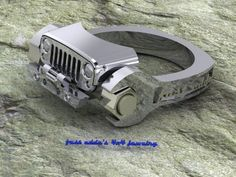 Jeep ring from fast eddies jewelry Jeep Jk, Jeep Wrangler Jk, Jeep Truck, Jeep Wrangler Unlimited, Jeep Willys, Offroad, Motor Ford, Jeep Accessories, Wrangler Accessories