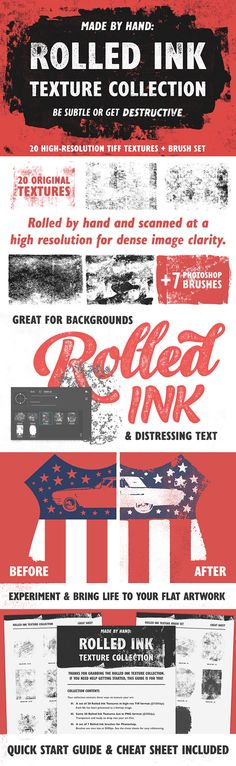 Rolled Ink Texture Collection for Access All Areas Members