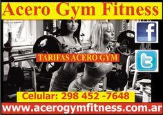 TARIFAS ACERO GYM - http://acerogymfitness.com.ar/articulos-de-acceso-libre/tarifas-acero-gym/