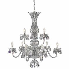 Pin by suzi bondra on interests pinterest chandeliers and arms waterford bluebell 9 arm chandelier part of the waterford interiors chandeliers collection this product is aloadofball Gallery