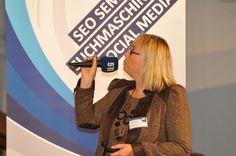 Andrea Starzer - Gesellschafter und Geschäftsleitung von #PromoMasters Online Marketing im Vortrag beim Karriereforum in Linz 2012