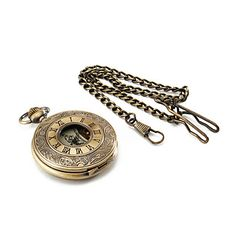Men's Watch Pocket Watch Mechanical Vintage Alloy Bronze Case