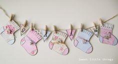 Eline Pellinkhof: Sweet socks on a string