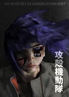 Ghost in the Shell - Fan Art on Behance