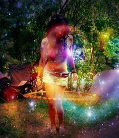 enchanted forest hooper - learn to hoop Fire Dancer, Hula Hooping, Hoop Dreams, Partner Yoga, Flow Arts, Magical Forest, Hippie Life, Pole Dancing, Burn Calories