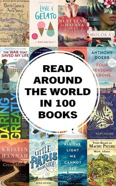 These 100 inspiring travel books will take you to another time and place fuel your wanderlust and make you want to travel the world! Read around the world with this incredible list that spans Africa Asia Europe North and South America Oceania and A Travel Best Travel Books, Best Places To Travel, 100 Best Books, Best Inspirational Books, Good Books, Books To Read, Journey Quotes, Reading Challenge, Nouvel An