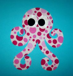 Fabric Applique TEMPLATE ONLY SwiRly Curly OctopusNEW by etsykim, $1.50