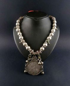 Hey, I found this really awesome Etsy listing at https://www.etsy.com/listing/116279692/yemen-bedouin-necklace-silver-beads-and