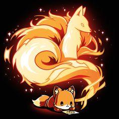 Cute Kawaii Animals, Cute Animal Drawings Kawaii, Cute Cartoon Drawings, Cute Little Animals, Kawaii Drawings, Cute Fantasy Creatures, Mythical Creatures Art, Foto Fantasy, Fantasy Art